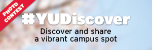 #YUDiscover - Discover and share a picture of a vibrant campus spot, photo contest